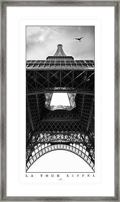 Paris - La Tour Eiffel Framed Print by ARTSHOT - Photographic Art