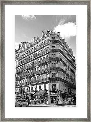 Paris Architecture Framed Print by Ivy Ho