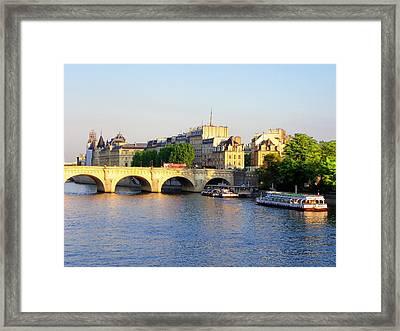Paris Framed Print by Carolyn Bistline