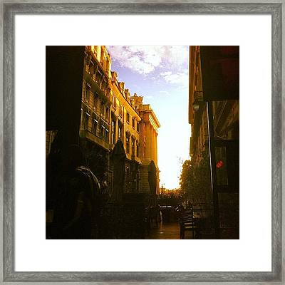 #paris #france #lifestyle #urban Framed Print