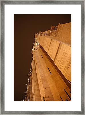 Paris France - Notre Dame De Paris - 011310 Framed Print by DC Photographer
