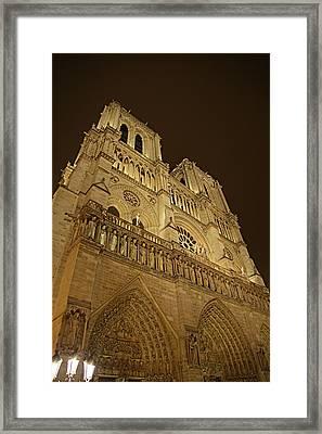 Paris France - Notre Dame De Paris - 011311 Framed Print