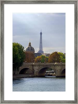 Paris Framed Print by Ioan Panaite