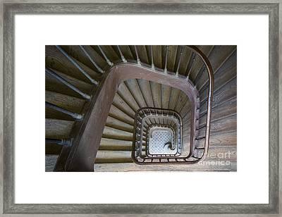 Paris Staircase Framed Print