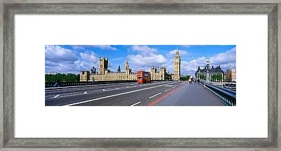 Parliament Big Ben London England Framed Print
