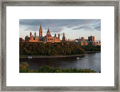 Parliament Hill  Ottawa, Ontario, Canada Framed Print