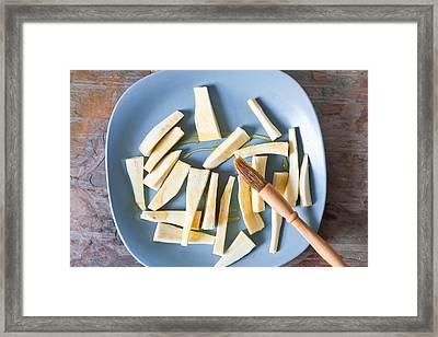 Parsnips Framed Print by Tom Gowanlock