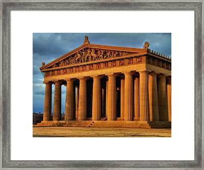 Parthenon Framed Print by Dan Sproul