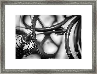 Parts Framed Print by David Rucker