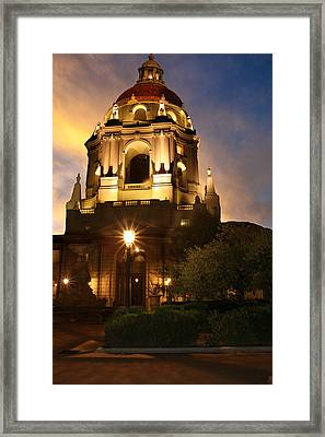 Pasadena City Hall Framed Print by Robert Hebert