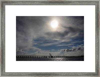 Framed Print featuring the photograph Pass Manchac by Charlotte Schafer