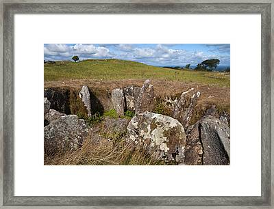 Passage Grave,carbane West, Loughcrew Framed Print by Panoramic Images