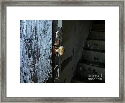 Past Age Passage Framed Print by Lin Haring