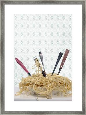 Pasta For Five Framed Print by Joana Kruse