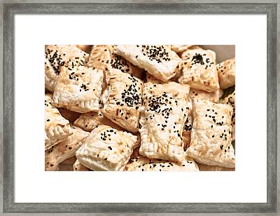 Pastries Framed Print by Tom Gowanlock