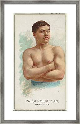 Patsey Kerrigan, Pugilist, From Worlds Framed Print