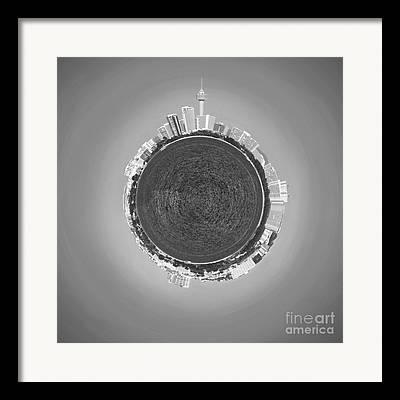 Sea View Digital Art Framed Prints