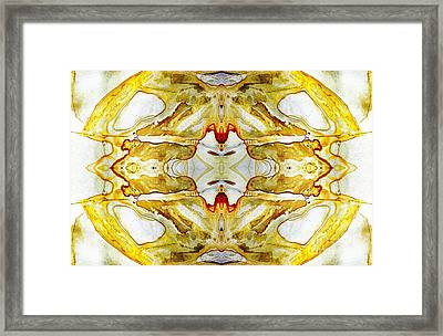 Patterns In Stone - 150 Framed Print by Paul W Faust -  Impressions of Light