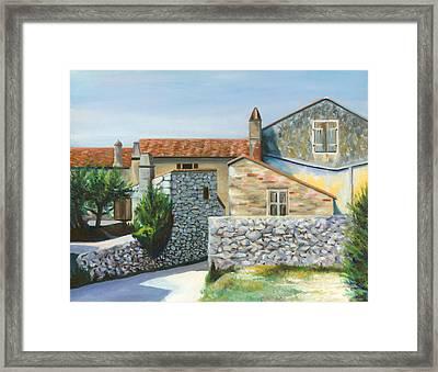 Patti's House Framed Print by Joe Maracic