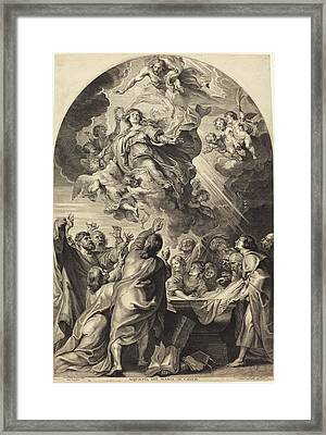 Paulus Pontius, After Sir Peter Paul Rubens Flemish Framed Print by Quint Lox