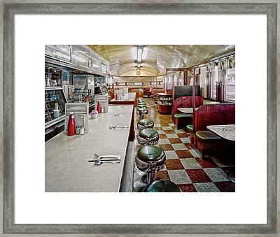 Pawtucket Diner Framed Print