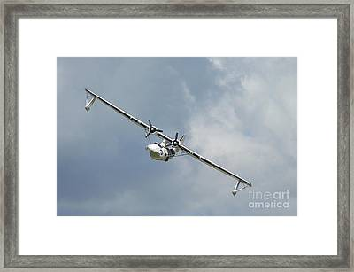 Pby Catalina Seaplane In World War II Framed Print by Riccardo Niccoli