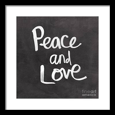 Peace Framed Prints