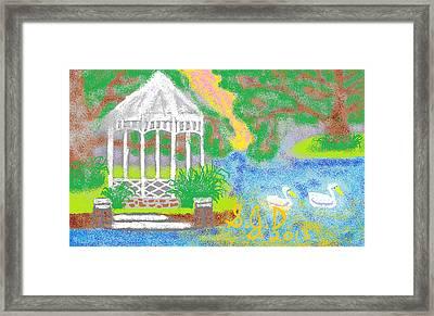 Peaceful Place Framed Print by Joe Dillon