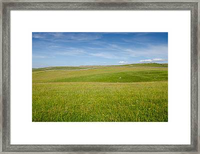 Peaceful Yorkshire Framed Print