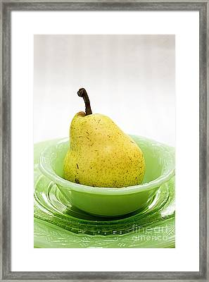 Pear Still Life Framed Print by Edward Fielding