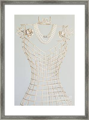 Pearls Framed Print by Margie Hurwich