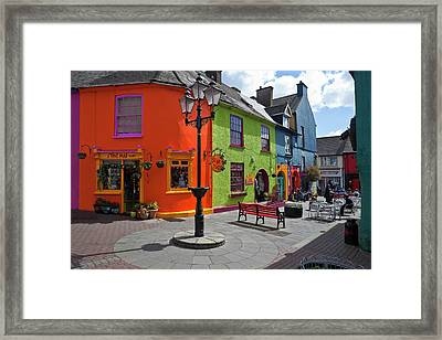 Pedestrianised Street Off Market Framed Print by Panoramic Images