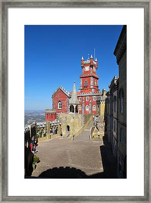 Pena Palace Framed Print by Luis Esteves