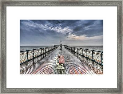 Penarth Pier 4 Framed Print