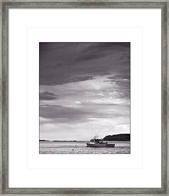 Pending Storm Framed Print by Don Powers