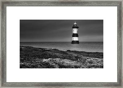 Penmon Lighthouse Framed Print