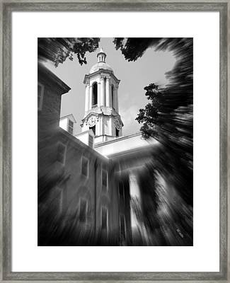 Penn State Old Main Framed Print by Mary Beth Landis