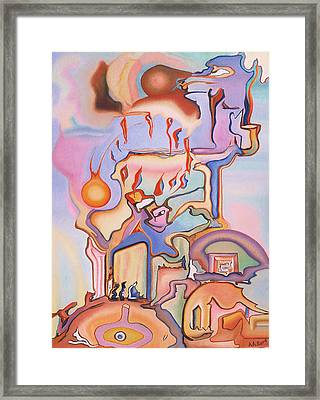 Pentecost Framed Print by Aswell Rowe