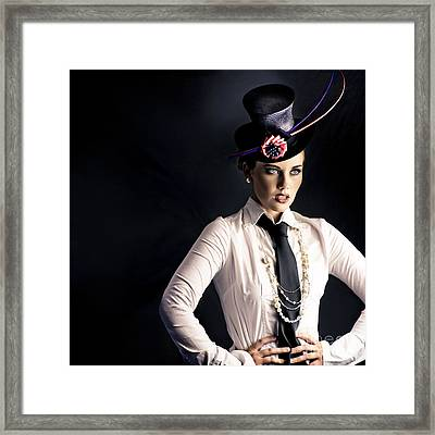 Performer In The Spotlight Framed Print by Jorgo Photography - Wall Art Gallery
