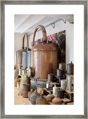 Perfume Stills Framed Print by Chris Hellier