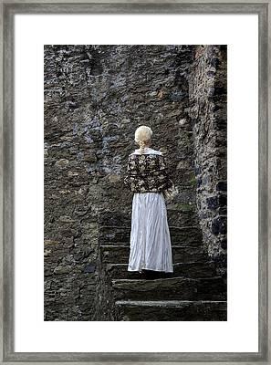 Period Lady Framed Print
