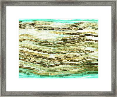 Peripheral Nerve Framed Print by Microscape