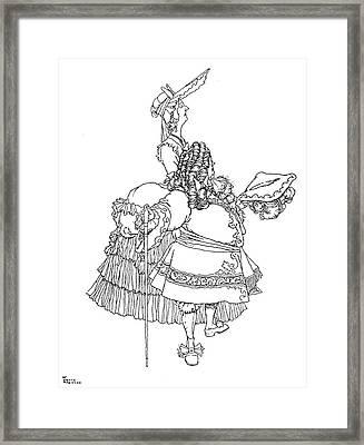 Perrault Cinderella Framed Print