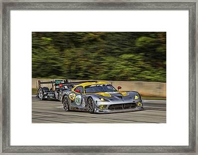 Petit Le Mans Framed Print