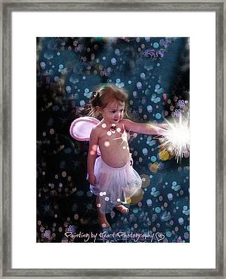 Fairy Magic Framed Print by Deahn      Benware