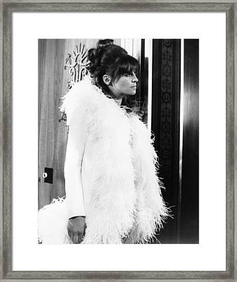 Petulia, Julie Christie, 1968 Framed Print