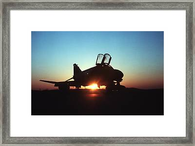 Phantom Sunrise Framed Print