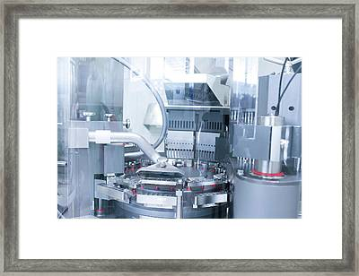 Pharmaceutical Machinery Framed Print