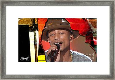 Pharrell Williams Framed Print