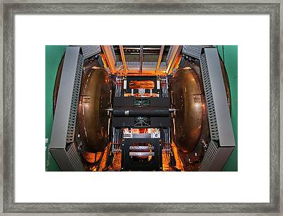 Phenix Detector At Rhic Framed Print by Brookhaven National Laboratory